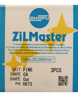 0673 ZILMASTER FINE CA CUPT 3PCS