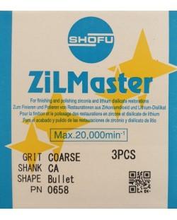 0658 ZILMASTER COARSE CA BULLET 3PCS