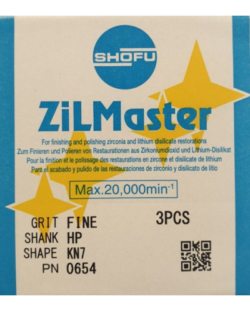 0654 ZILMASTER FINE HP KN7 3PCS
