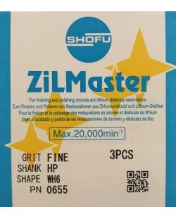 0655 ZILMASTER FINE HP WH6 3PCS