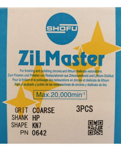 0642 ZILMASTER COARSE HP KN7 3PCS