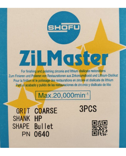 0640 ZILMASTER COARSE HP BULLET 3PCS