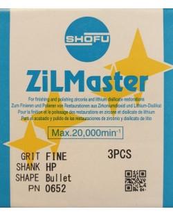 0652 ZILMASTER FINE HP BULLET 3PCS