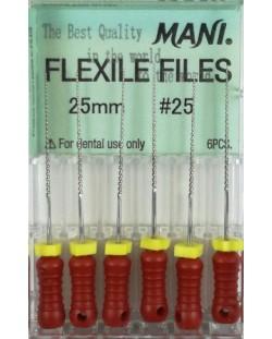 FLEXILE FILES 25MM 25 1OP. WYRÓB MEDY...