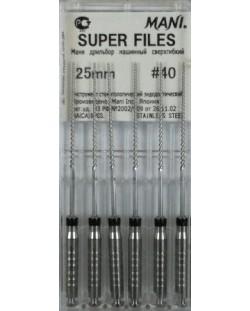 SUPER FILES 25MM 40 1OP. WYRÓB MEDYCZNY
